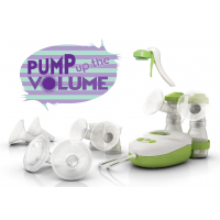 Pump up the Volume - with FREE Easy Clean