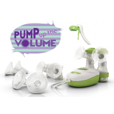 Pump up the Volume - Calypso Breastpump - Single, Double, Electric & Manual  with FREE Easy Clean