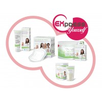 Express Yourself - Freezer & Microwave Bags, Breast Pads & Nipple Cream