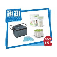 Ice Ice Baby - Cool Bag, 6 Bottles, 2 Cooling Elements, Easy Store